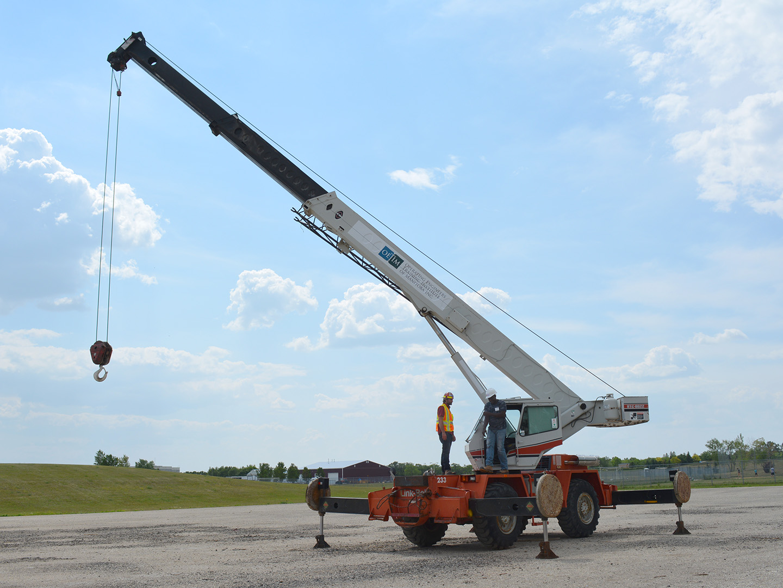 Mobile Crane Operator Trade Up Manitoba
